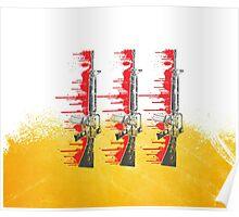 Proud Guns - Yellow Base Gamer Poster