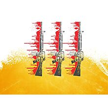 Proud Guns - Yellow Base Gamer Photographic Print