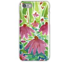 Pink Coneflowers iPhone Case/Skin