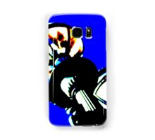 Melbourne streetlight, cool funky abstract photo. Samsung Galaxy Case/Skin
