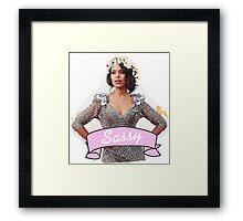 Sassy Kerry Framed Print