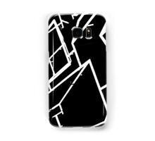 Black and White abstract building Samsung Galaxy Case/Skin