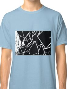 Black and White abstract building Classic T-Shirt