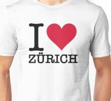 I love Zurich Unisex T-Shirt