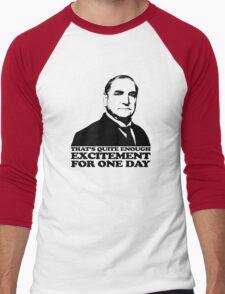 Downton Abbey Carson Excitement Tshirt Men's Baseball ¾ T-Shirt