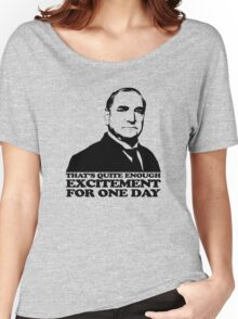 Downton Abbey Carson Excitement Tshirt Women's Relaxed Fit T-Shirt