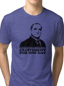 Downton Abbey Carson Excitement Tshirt Tri-blend T-Shirt