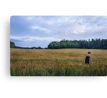 Fields Canvas Print