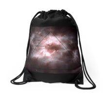 Déjà Vu Triangle Drawstring Bag