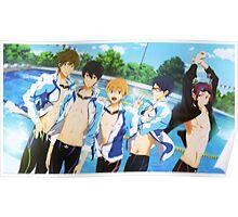 Free! Iwatobi Swim Club Poster Poster