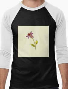 Little flower Men's Baseball ¾ T-Shirt