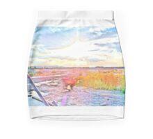Bridge View Swamp Mini Skirt