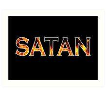 Satan Art Print