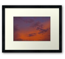 Magical Evening Framed Print