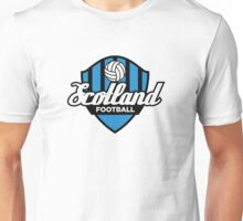 Football coat of arms of Scotland Unisex T-Shirt