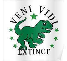 Veni Vidi Extinct VRS2 Poster