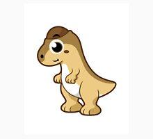 Cute illustration of a Pachycephalosaurus dinosaur. Unisex T-Shirt