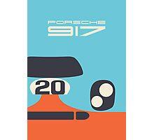 Porsche 917 Gulf (Logo) Photographic Print