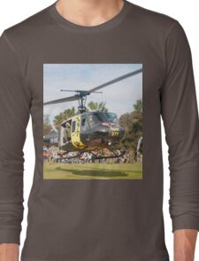 Huey Eagle One Helicopter Long Sleeve T-Shirt