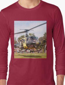 Huey Eagle One Helicopter Long Sleeve T-Shirt