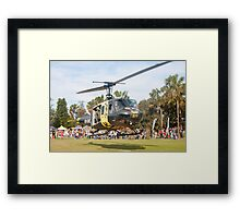 Huey Eagle One Helicopter Framed Print