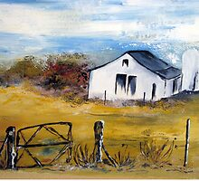 A farmhouse in the Karoo by Elizabeth Kendall