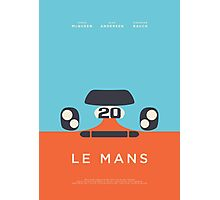 Le Mans movie Porsche 917 Gulf (Layout 1) Photographic Print