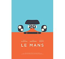 Le Mans movie Porsche 917 Gulf (Layout 2) Photographic Print
