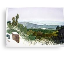 A View from Mt.St. Gwinear in Winter Canvas Print