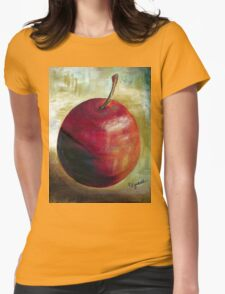 An apple a day........ Womens Fitted T-Shirt
