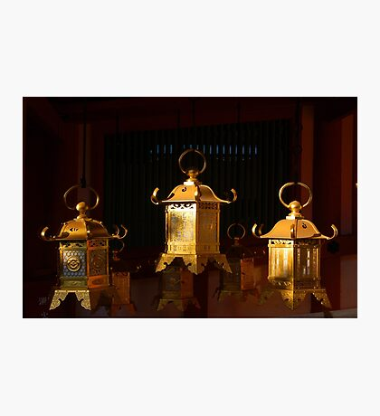 Three Lanterns Photographic Print