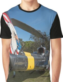 Huey Eagle One Helicopter  Graphic T-Shirt