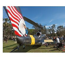 Huey Eagle One Helicopter  by Martin Berry Photography
