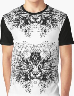 Abstract symetry pattern B&W Graphic T-Shirt