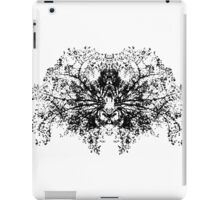 Abstract symetry pattern B&W iPad Case/Skin