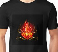 The Burning heart theme Unisex T-Shirt