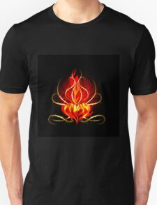 The Burning heart theme T-Shirt