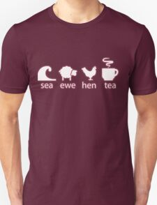 Sea Ewe Hen Tea Unisex T-Shirt