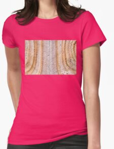 Australian rock formation background, sandstone texture Womens Fitted T-Shirt