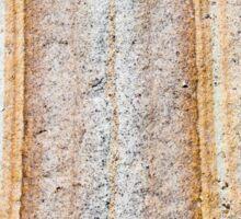 Australian rock formation background, sandstone texture Sticker