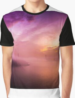 Fog over the bridge Graphic T-Shirt