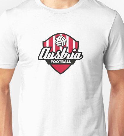Football coat of arms of Austria Unisex T-Shirt