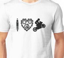 I Love Wheelies  Unisex T-Shirt