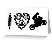 I Love Wheelies  Greeting Card