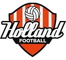 Football Crest Holland Photographic Print