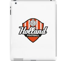 Football Crest Holland iPad Case/Skin
