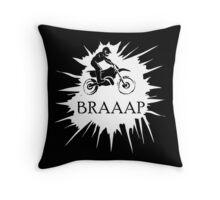 Braaap Splash  Throw Pillow