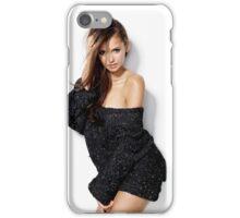 Elena Gilbert Nina Dobrev - ar1 iPhone Case/Skin