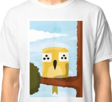 A bird on a branch Classic T-Shirt