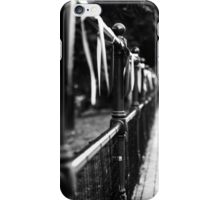 Down the pavement of flags iPhone Case/Skin